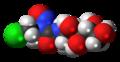 Chlorozotocin 3D spacefill.png