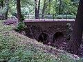 Chlumec, U zámeckého rybníka, most přes Ždírnický potok (01).jpg