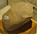Chopper - Lower Palaeolithic Culture - Narmada Valley - Human Evolution Gallery - Indian Museum - Kolkata 2014-04-04 4509.JPG