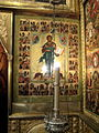 Christ with S. Varlaam and Sergius (16 c, Annunciation cathedral in Moscow) in interior by shakko.jpg