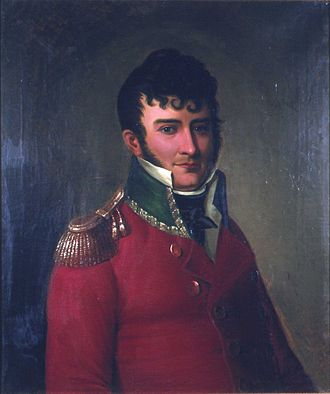 Kingdom of Norway (1814) - Christian Magnus Falsen, at 32 credited as being the constitution's father.