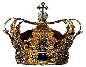 Danish Crown Regalia - The crown of Christian V