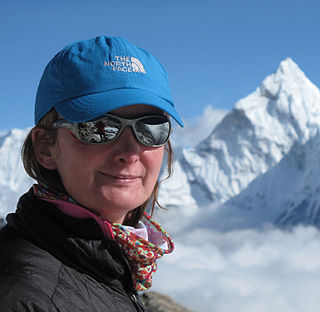 Christine Jensen Burke NZ and Australian mountain climber