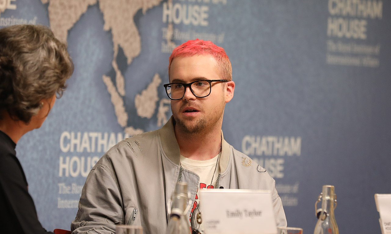 Christopher Wylie at Chatham House - 2018 (42624320935).jpg