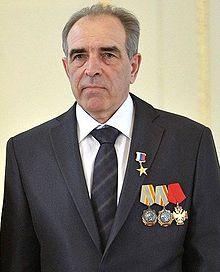 К.Г.Чумаков на церемонии награждении Героев Труда России в Константиновском дворце