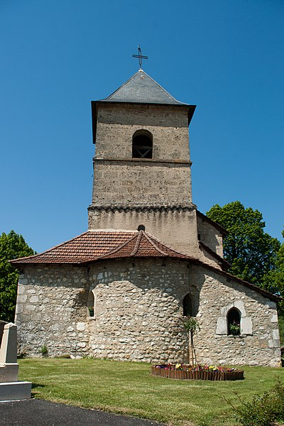 Church in Seillonnaz, France