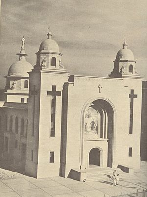 Matunga - A historical picture of the Church of Mary, Help of Christians, located next to Don Bosco School