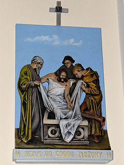 Church of the Assumption of Mary in Kock - Stations of the Cross - 14.jpg