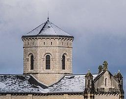La tour-lanterne de l'église du Sacré-Cœur de Rodez (Occitanie). (définition réelle 4846×3802)