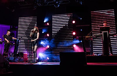 Picture of a band or musician: Chvrches