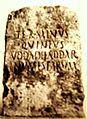 Cippo delimitante il territorio degli Uddadhaddar. cagliari Museo Archeologico nazionale..JPG