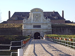 Lille - Entrance to the 'Vauban Citadel' (17th century)
