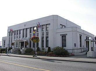 Prince Rupert, British Columbia - City Hall.