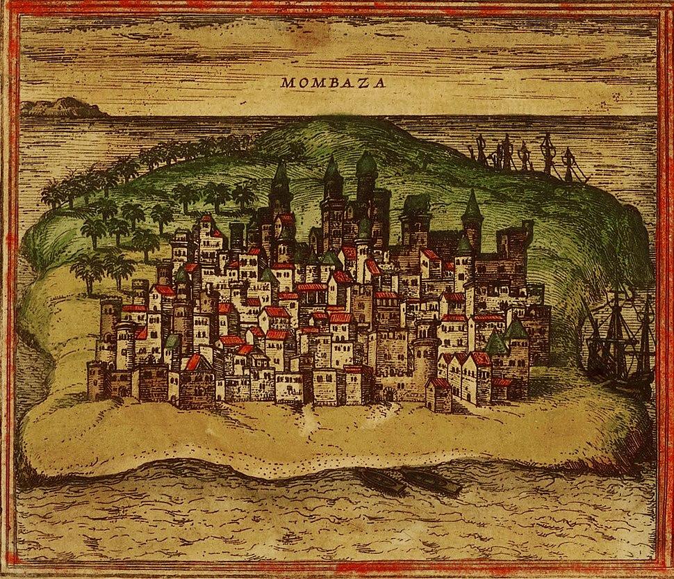 City mombassa 1572