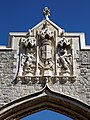 City of London Cemetery Main Gate coat of arms 1.jpg