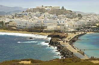 Naxos (city) - A view