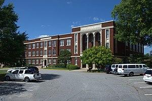 Claremont High School Historic District - Claremont High School Historic District, September 2012