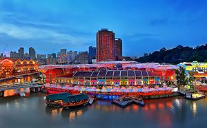 Central Area, Singapore - Image: Clarke Quay (8566640595)