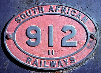 South African Class 11 2-8-2 - Image: Class 11 no. 912 ID