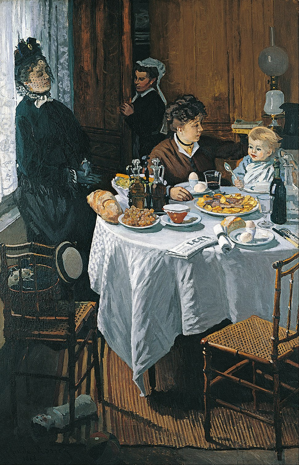 Claude Monet - The Luncheon - Google Art Project