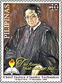 Claudio Teehankee 2014 stamp of the Philippines.jpg
