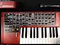 Clavia Nord Lead 4 - controls - 2014 NAMM Show.jpg