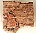 Clay tablet, Egyptian-Hittite peace treaty between Ramesses II and Ḫattušili III, mid-13th century BCE. Neus Museum, Berlin.jpg