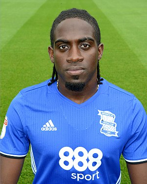 Clayton Donaldson - Donaldson with Birmingham City in 2016
