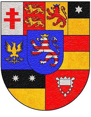 Landgraviate of Hesse-Rotenburg - Escutcheon of Hesse-Rotenburg