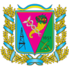 Coat of Arms of Krasnokutskiy Raion in Kharkiv Oblast.png