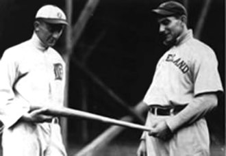 1910 Chalmers Award - Ty Cobb and Nap Lajoie