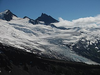 Coleman Glacier (Washington) glacier in the United States