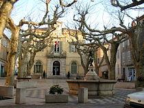 Collobrieres-Place de la Libération.JPG