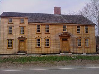 Col. James Barrett Farm - The Barrett Farmhouse