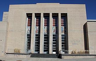 Colorado Springs Fine Arts Center - The main entrance