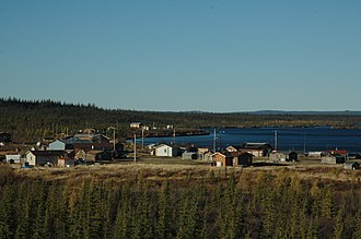 Colville Lake, Northwest Territories - Image: Colville site (76)