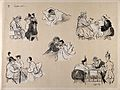 Comical scenes of hospital patients receiving their visitors Wellcome V0015713.jpg