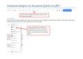 Comment intégrer un document.pdf