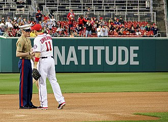 2014 Washington Nationals season - Image: Commentary, 2014 Washington Nationals preview 130508 A DQ287 390