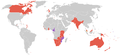 Commonwealth games 1998 countries map.PNG