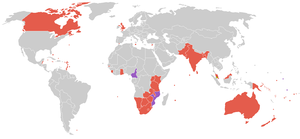 1998 Commonwealth Games - Participating countries