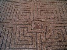 gelangt zum mittelpunkt des labyrinths