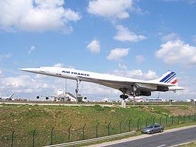Le Concorde à Roissy semblable à celui qui s'est écrasé
