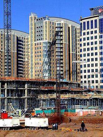 Reston Town Center - Construction in December 2006
