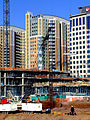 Construction at Reston Town Center, December 2006.jpg
