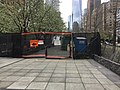 Construction detour in walking portion of NYC greenway.jpg