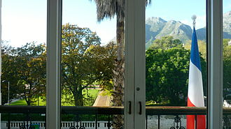 French Consulate of Cape Town - View from the main balcony