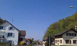 Cornol Municipality in Switzerland in Jura