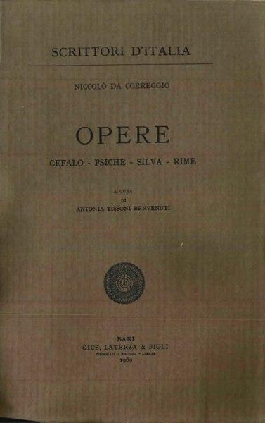 File:Correggio, Niccolò – Opere, 1969 – BEIC 1886588.djvu