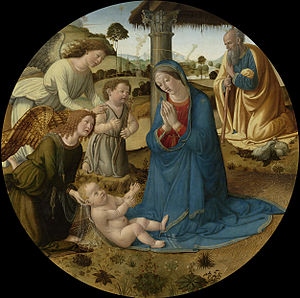 Cosimo Rosselli - Nativity, 1490s